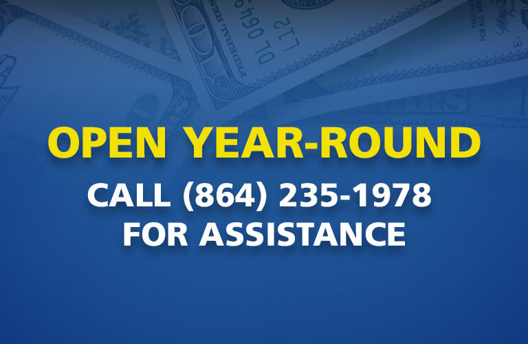 Open Year-Round at (864) 235-1978
