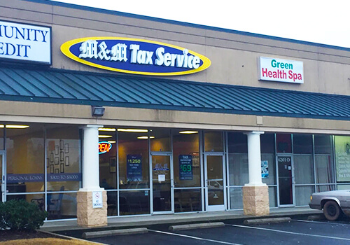 M & M Tax - Greenville - White Horse Rd (Berea)