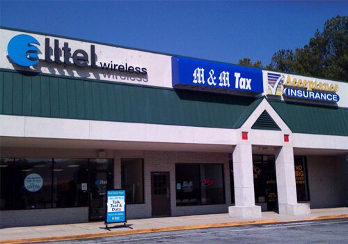 M & M Tax - Greenwood - Bypass 72 NW