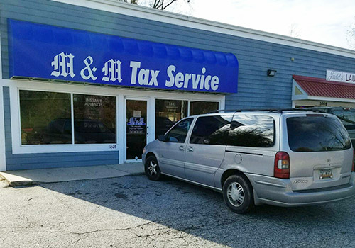 M & M Tax - Greenwood - S Main St