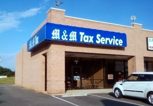 M & M Tax - Greenville - White Horse Rd by Welcome Elementary