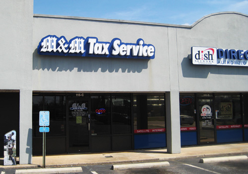 M & M Tax - Spartanburg - E Blackstock
